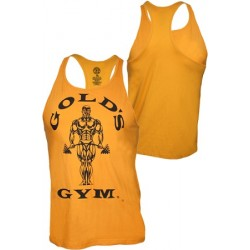 Gold´s Gym Stringer Tank Muscle Joe Premium Gold