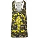 Gold´s Gym Stringer Tank Muscle Joe Premium Camo Green