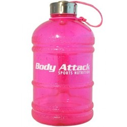 Body Attack Sports Nutrition Water Bottle XL Pink 1,89 Liter