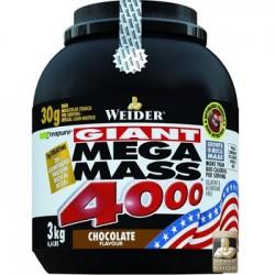 Weider-Giant Mega Mass 4000 3kg verschiedene Geschmäcke