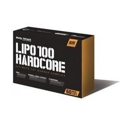 Body Attack LIPO 100-HARDCORE 60 Kapseln