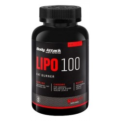 Body Attak Lipo 100 Fat Burner 120 Kapseln
