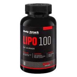 Body Attak Lipo 100 Fat Burner 120 Kapseln