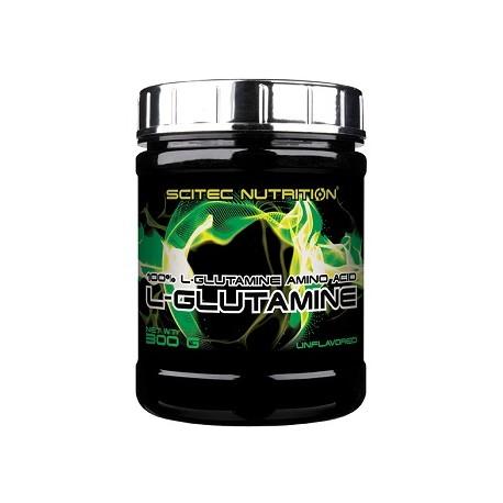 Scitec L-Glutamine Pulver 300g Geschmacksneutral