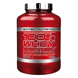 Scitec Whey Proteine 100% 2350g verschiedene Geschmäcker