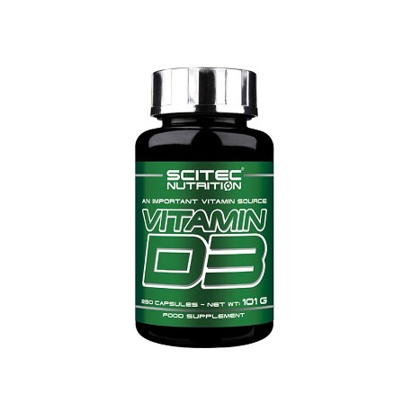 Scitec Vitamin D3 250 Kapseln