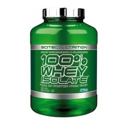 Scitec Whey Isolate 100% 2000g verschiedene Geschmäcke