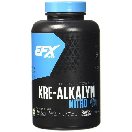EFX Kre-Alkalyn Nitro Pro 120 Kapseln