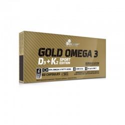 Olimp Gold Omega 3 D3 + K2 - 60 Kapseln