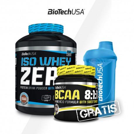 Bio Tech Iso Whey Zero 2270g + BCAA 8:1:1 Zero