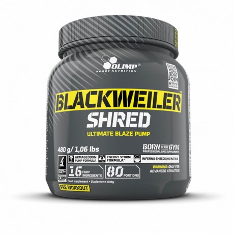 Olimp Blackweiler Shred 480g