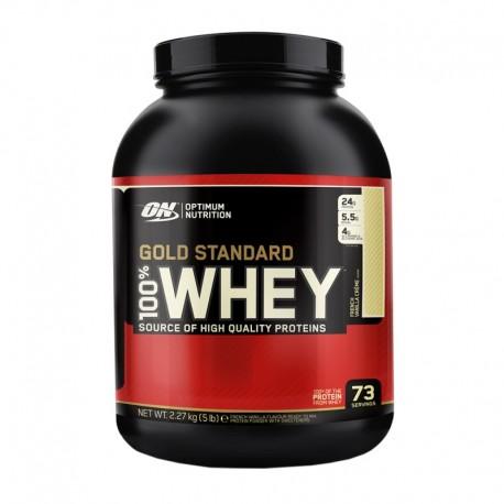 Optimum Nutrition 100 % Whey Protein 2270g + ON Creatin 634g