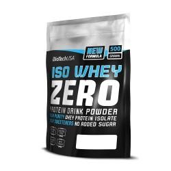 BioTech Iso Whey Protein Zero lactose free 500g verschiedene Geschmäcke