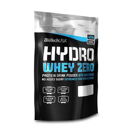 BioTech Hydro Whey Protein Zero 454g verschiedene Geschmäcke