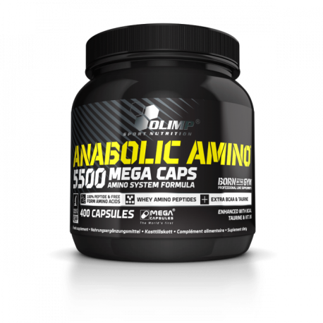 Olimp Anabolic Amino 5500 - 400 Mega Tabletten