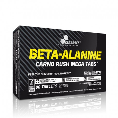 Olimp Beta-Alanin Carno Rush - 80 Tabletten