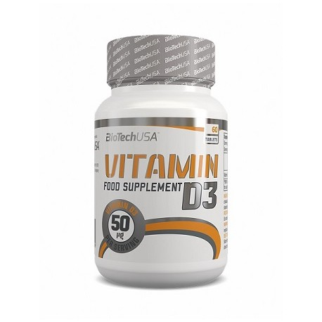 BioTech Vitamine D3 60 Tabletten