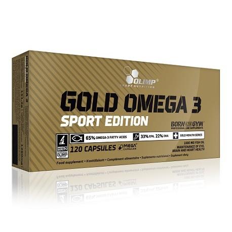 Olimp Omega 3 Sport Edition 120 Kapseln